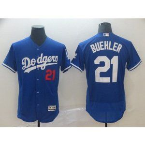 Los Angeles Dodgers Buehler Blue Authentic Jersey